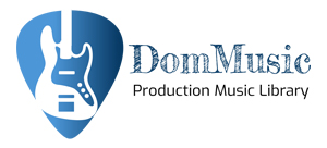 Production Music Library Logo Dom Music logo