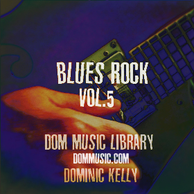 Blues Rock Production Music Library