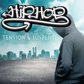 Hip Hop Tension & Suspense Production Music Library